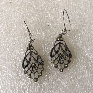 Vintage sterling earring
